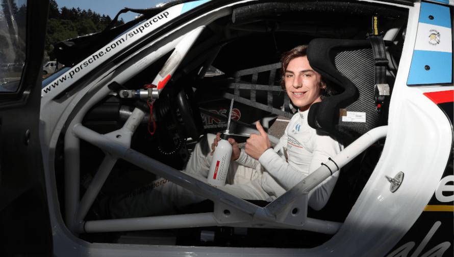 Los récords que impuso Mateo Llarena en la Porsche Mobil 1 Supercup 2020