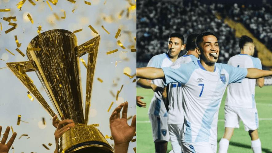 Los rivales de Guatemala para la Copa Oro 2021