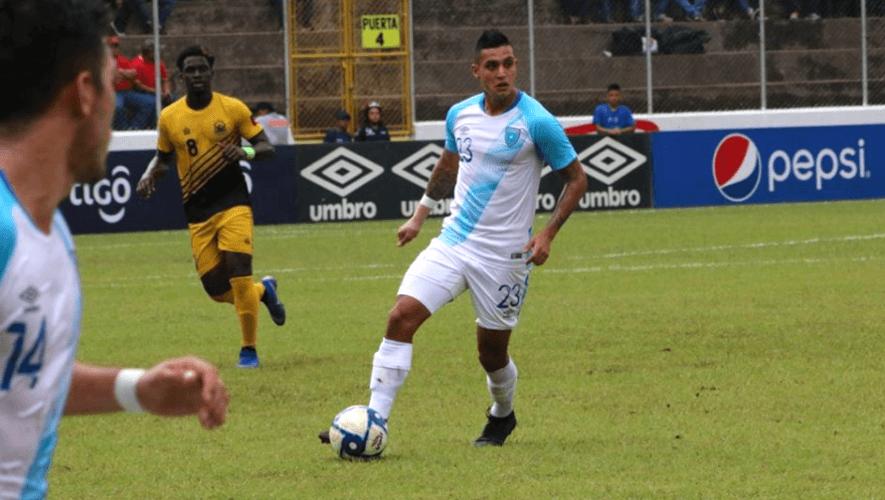 Primera convocatoria de la selección de fútbol de Guatemala para septiembre 2020