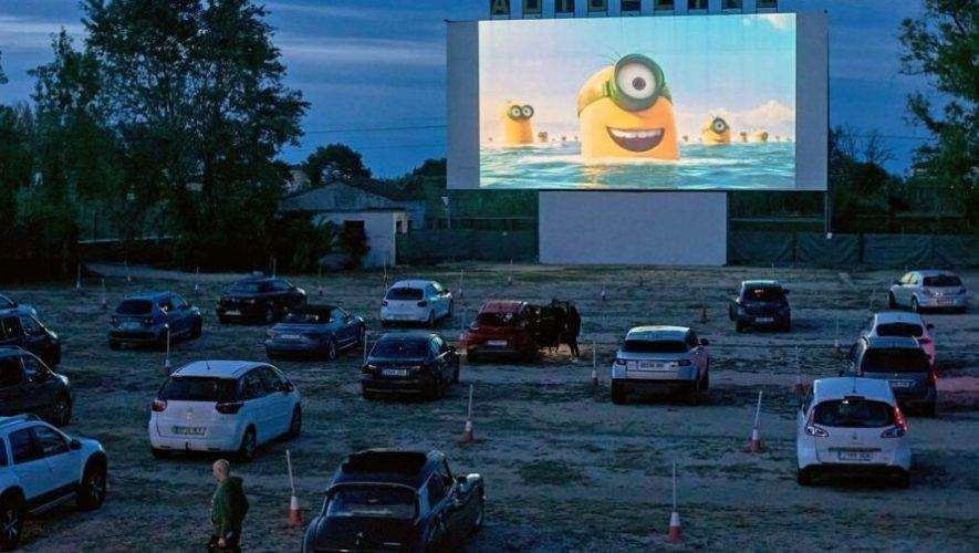 Proyección de la película Minions en los autocinemas de Guatemala | Septiembre 2020