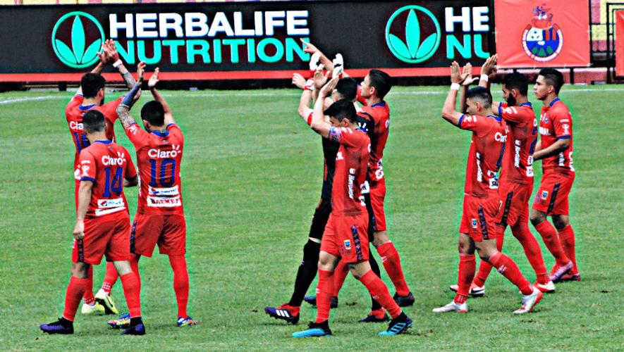 Rivales de Antigua GFC, Comunicaciones y Municipal para la Liga Concacaf 2020