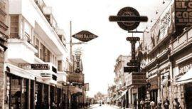 Fotografías antiguas de la Sexta Avenida de la Ciudad de Guatemala