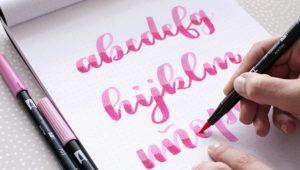 Taller gratuito de lettering para principiantes | Septiembre 2020