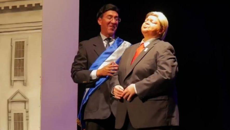 Transmisión de la obra guatemalteca No, gracias Mr. Trump | Septiembre 2020