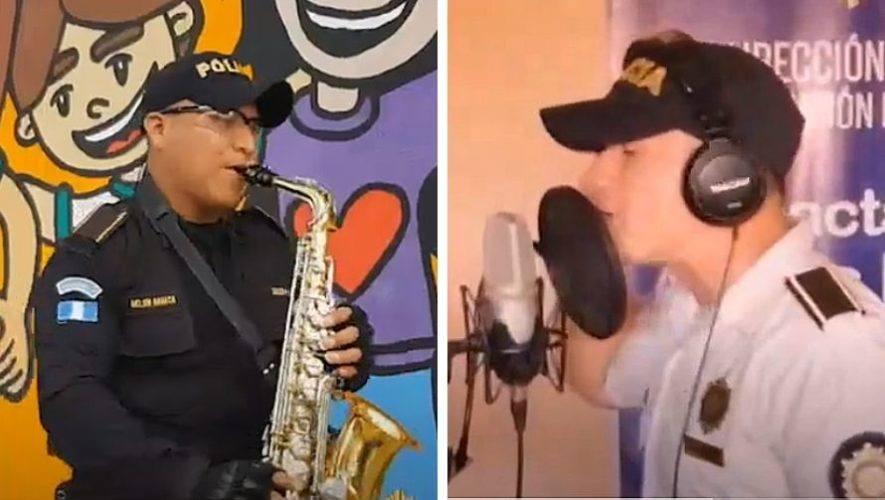 agentes-pnc-cantan-rap-dedicado-juventud-guatemalteca