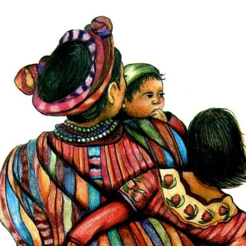 artista-canadiense-retrata-cultura-maya-guatemala-impresionantes-pinturas-hijo-guatemalteco-galeria-arte