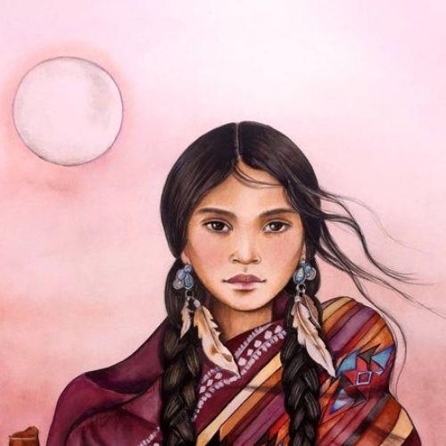 artista-canadiense-retrata-cultura-maya-guatemala-impresionantes-pinturas-terapia-empoderamiento-guatemaltecas-mujeres