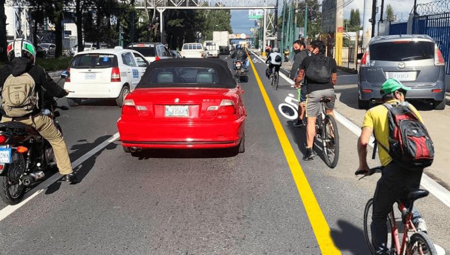 Carril Bici: Ciclovía en Mixco conectará Ciudad de Guatemala y carretera Interamericana