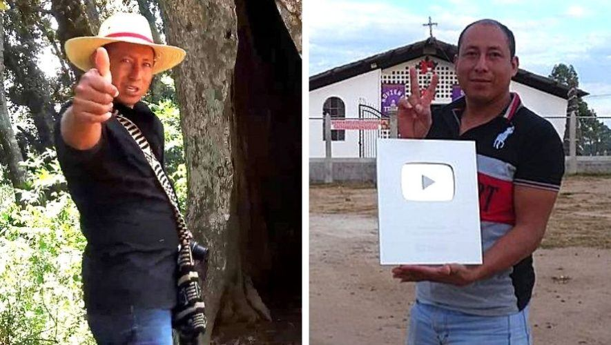 chinto-aventuras-youtuber-guatemalteco-obtuvo-placa-100-mil-suscriptores-youtube-guatemala