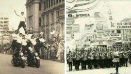 Fotos antiguas de los tradicionales desfiles del 15 de septiembre en la Ciudad de Guatemala