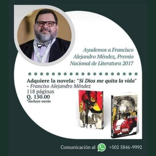 francisco-alejandro-mendez-nueva-novela-policial-si-dios-me-quita-la-vida-venta-adquirir