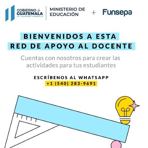 sos-docente-chat-robot-funsepa-ayudar-maestros-guatemaltecos-whatsapp.gratis-mineduc-primaria