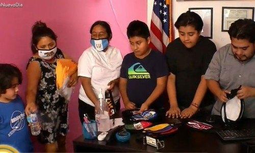 telemundo-destaco-pareja-guatemalteca-creo-emprendimiento-mascarillas-quetzaltenango-nuevo-dia