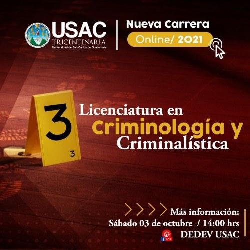 usac-anuncia-implementacion-carrera-licenciatura-criminologia-criminalistica-educacion-distancia-en-linea-virtual
