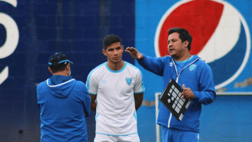 Alineación de Guatemala para el partido amistoso vs. Nicaragua, octubre 2020
