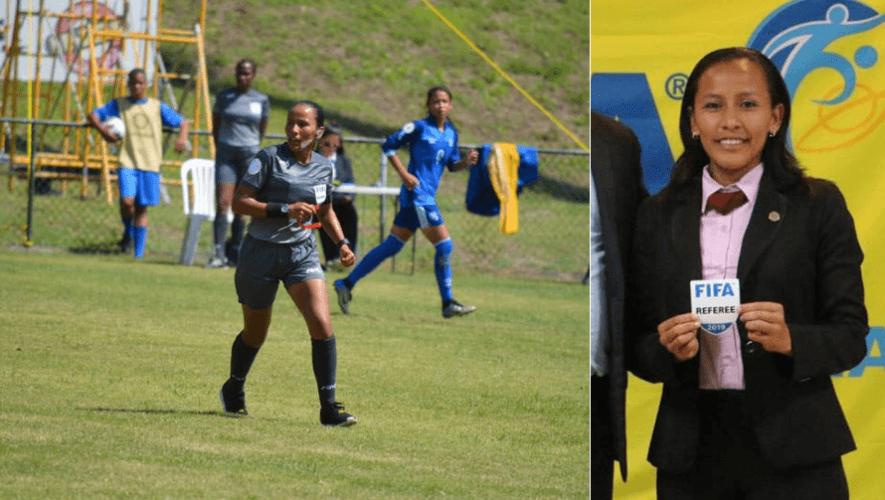 Astrid Gramajo se convirtió en la primera árbitro en dirigir un partido de Primera División