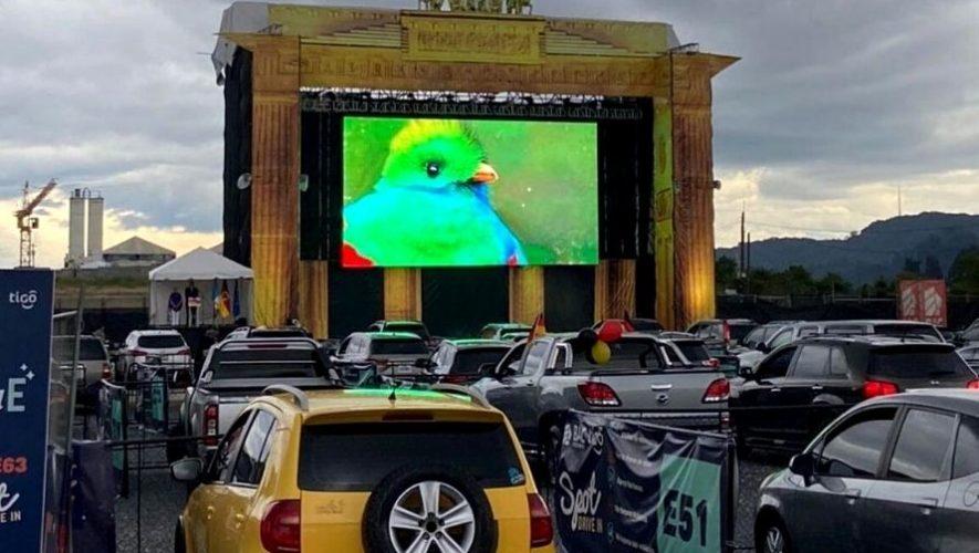 Cartelera de los autocinemas Spot Drive In   13 - 18 Octubre 2020