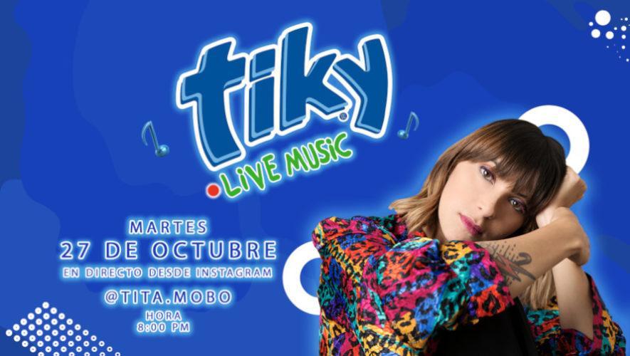 Concierto de Tita Mobo en Guatemala con Tiky Live Music | Octubre 2020