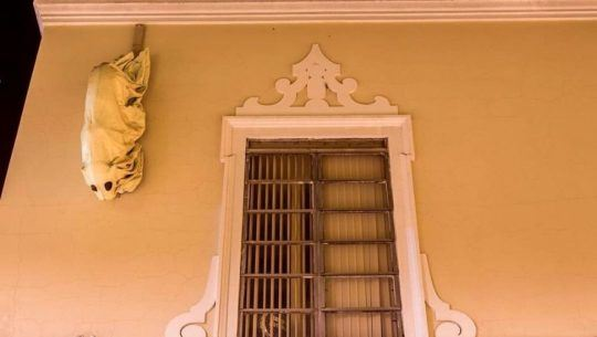 El jaguar fantasma del Paseo de la Sexta, Zona 1, Ciudad de Guatemala