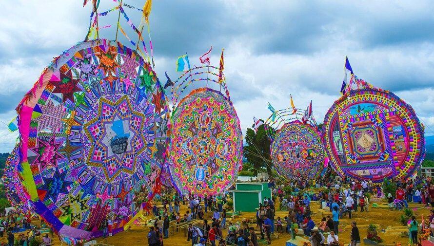 Festival virtual de barriletes gigantes de Sumpango Noviembre 2020