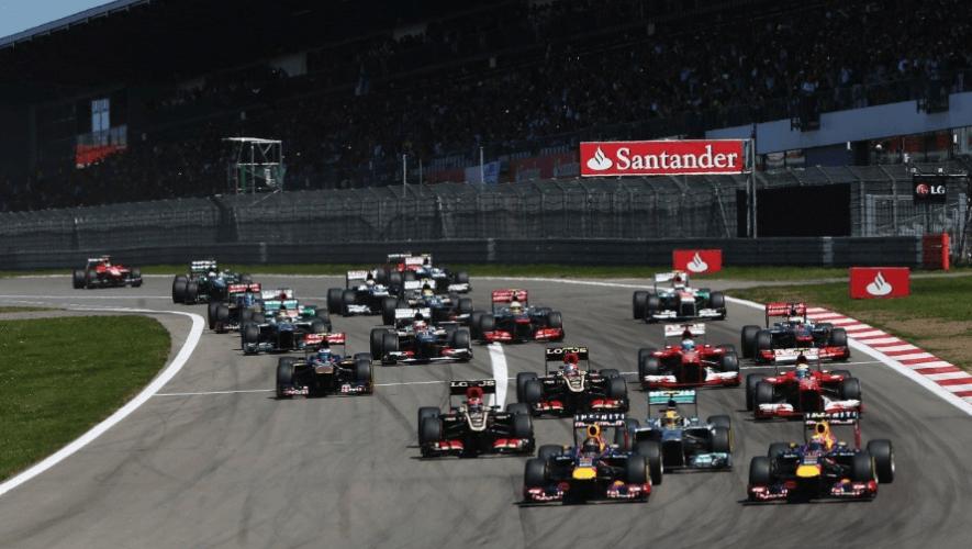 Fórmula 1 Fechas, horarios y canales para ver en Guatemala el Gran Premio de Eifel 2020
