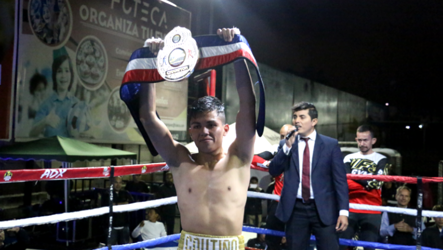 Jonathan Coutiño está listo para enfrentar su novena pelea como profesional en Nicaragua