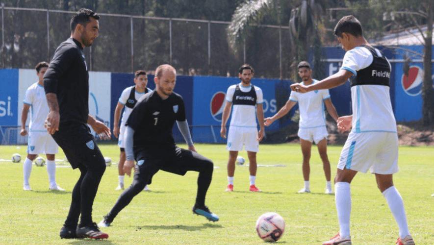 (Foto: Fedefut Guate)Jugadores convocados de Guatemala para el partido amistoso vs. Nicaragua, octubre 2020