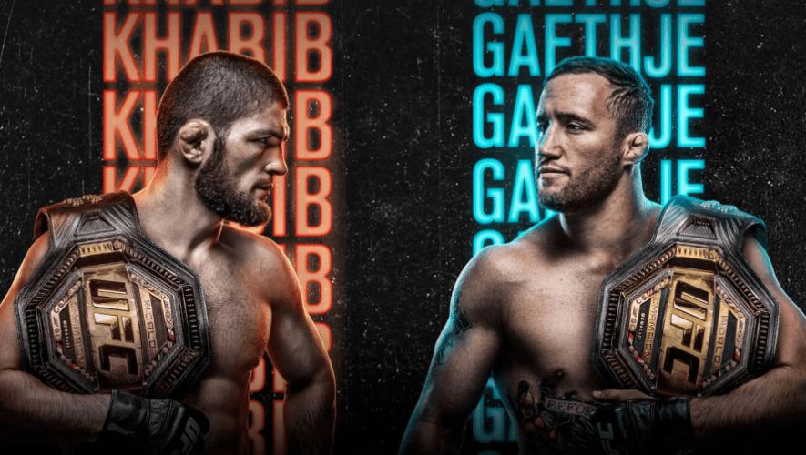 Khabib vs. Gaethje: Horario y canales en Guatemala para ver en vivo todas las peleas de UFC 254