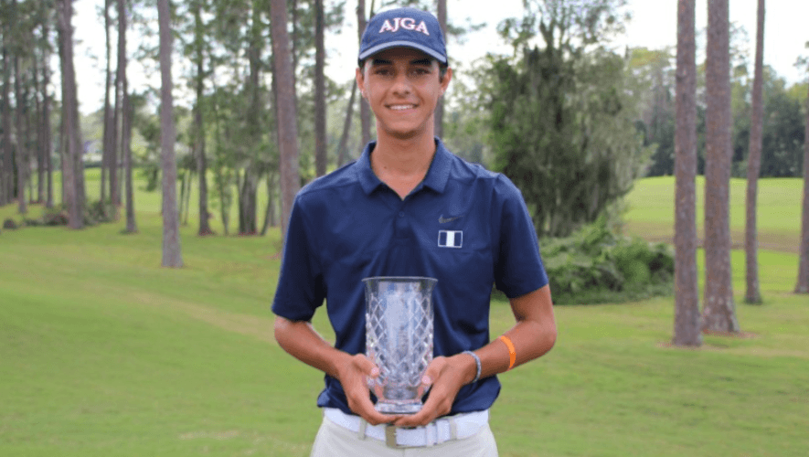 Miguel Leal hizo historia en el AJGA Billy Horschel Junior Championship 2020