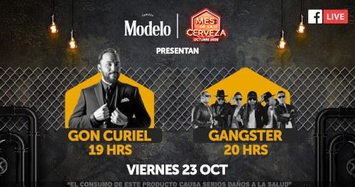 Noche de Stand Up con Gon Curiel y Gangster en línea