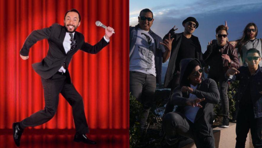 Noche de Stand Up con Gon Curiel y Gangster en línea | Octubre 2020