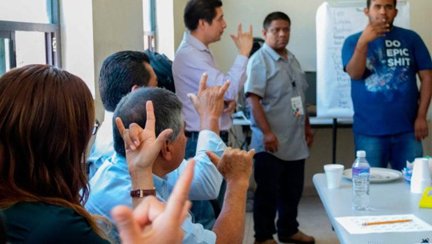 Noveno taller virtual gratuito de lengua de señas   Octubre 2020