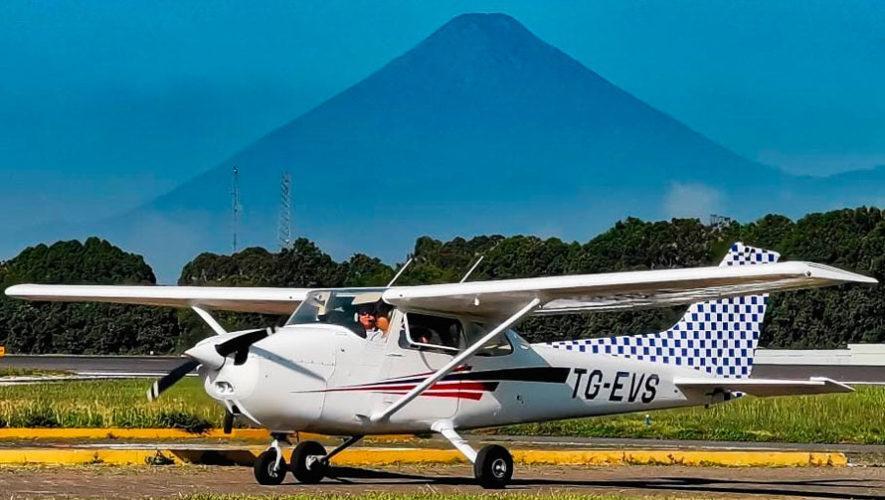 Paseo en avioneta por la Ciudad de Guatemala | Octubre 2020