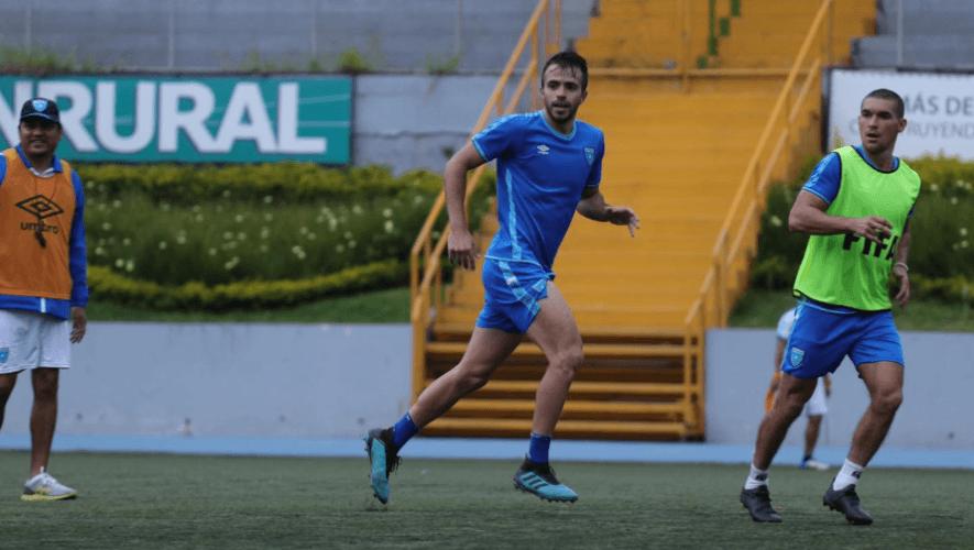 Primera convocatoria de la selección de fútbol de Guatemala para noviembre 2020