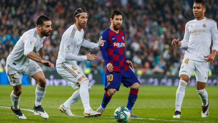 Proyección gratuita del clásico español Barcelona vs. Real Madrid, en Zona 16 | Octubre 2020