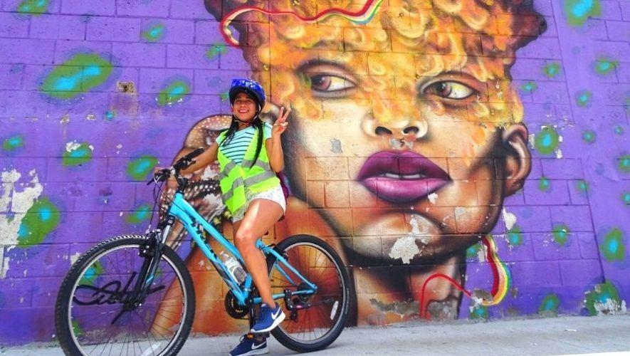 Recorrido en bicicleta por los murales de la Ciudad de Guatemala | Octubre 2020