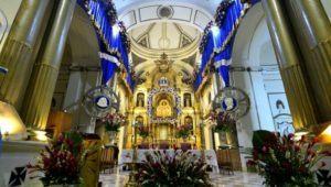 Recorrido virtual por la Basílica de la Virgen del Rosario   Octubre 2020