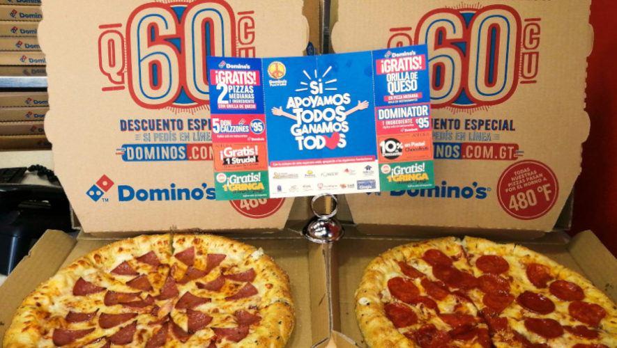 Regresó cuponera Pizza N' Love de Domino's Pizza por buenas causas en Guatemala