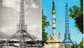 Fotografías antiguas de la Torre del Reformador en la Ciudad de Guatemala
