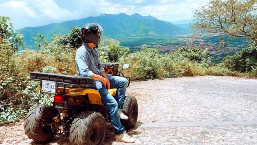 Tour en cuatrimotos por los alrededores de Antigua Guatemala | Octubre 2020
