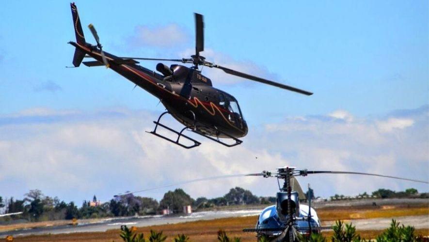 Tour en helicóptero por la Ciudad de Guatemala | Noviembre 2020