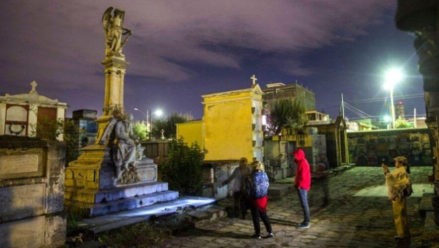 Tour virtual por los cementerios de Guatemala   Octubre 2020