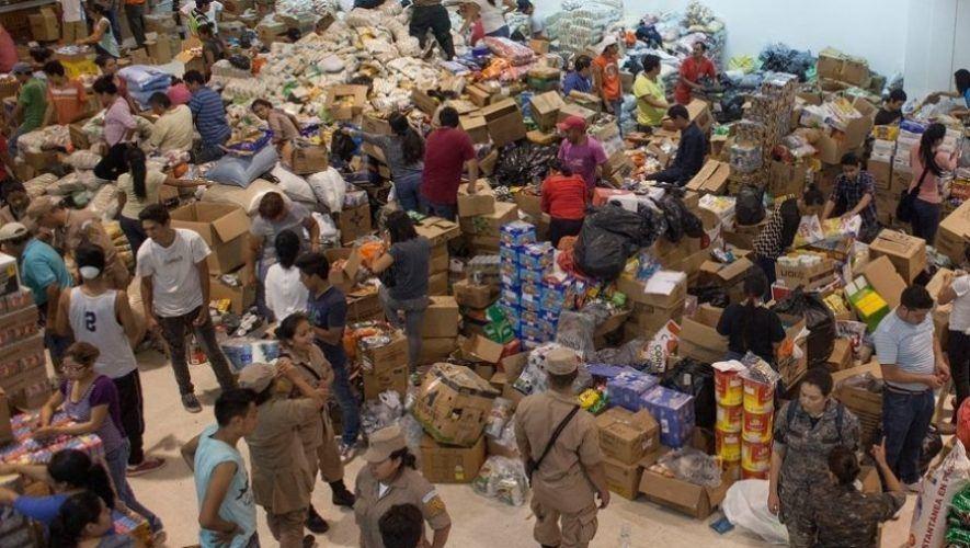 USAC habilita centros de acopio para ayudar a las familias de San Marcos La Laguna, Sololá