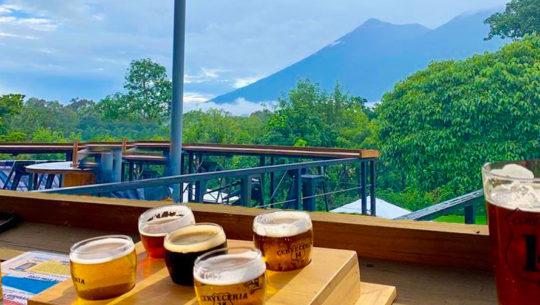 Viaje en bicicleta y visita a cervecería en Antigua Guatemala Octubre 2020 (2)