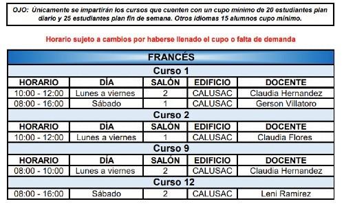 calusac-ofrece-curso-vacaciones-intensivo-guatemaltecos-noviembre-2020-horarios-frances