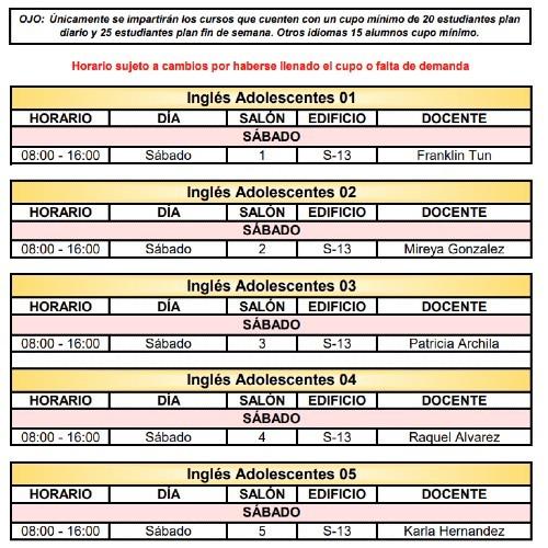 calusac-ofrece-curso-vacaciones-intensivo-guatemaltecos-noviembre-2020-horarios-ingles-adolescente