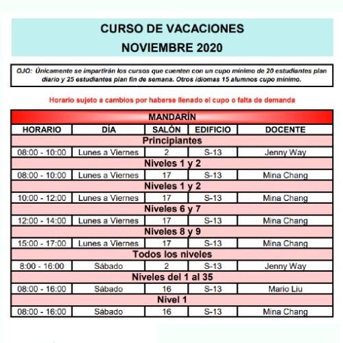 calusac-ofrece-curso-vacaciones-intensivo-guatemaltecos-noviembre-2020-horarios-mandarin