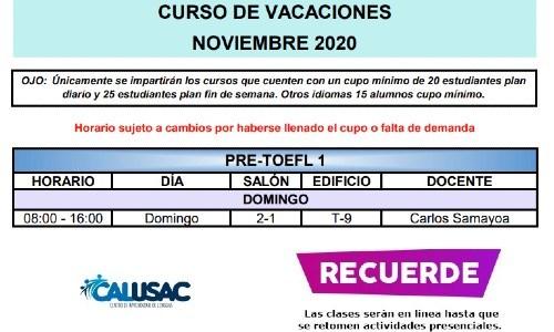 calusac-ofrece-curso-vacaciones-intensivo-guatemaltecos-noviembre-2020-horarios-pretoefl