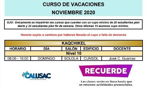 calusac-ofrece-curso-vacaciones-intensivo-guatemaltecos-noviembre-2020-kaqchikel