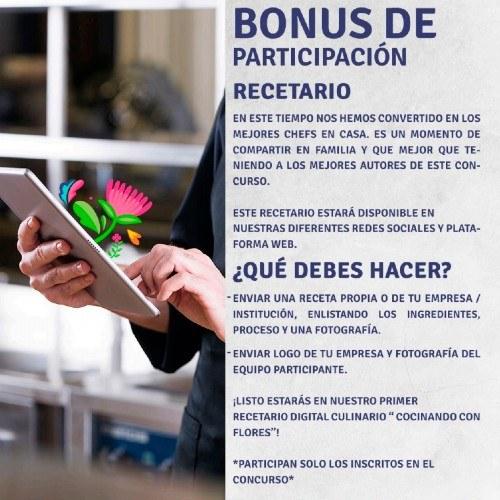 convocatoria-participar-concurso-cocinando-flores-2020-guatemala-recetario